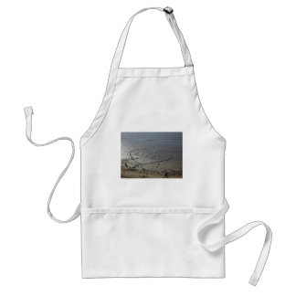 Love Written in the Sand Adult Apron
