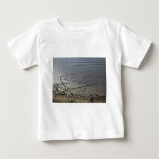 Love Written in the Sand Baby T-Shirt