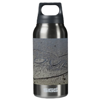 Love Written in the Sand Insulated Water Bottle