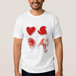 love X 4 Tshirts