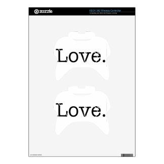 Love. Xbox 360 Controller Skin