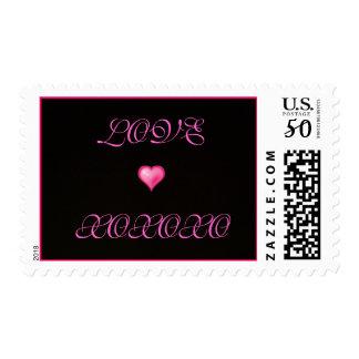 LOVE, XOXOXO-Stamps Postage