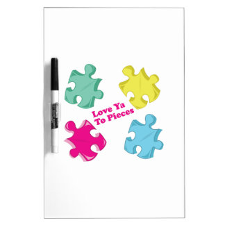 Love Ya Dry Erase Whiteboards