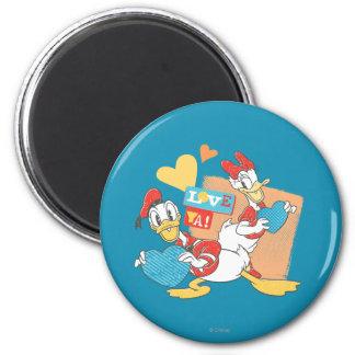 Love Ya! 2 Inch Round Magnet