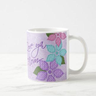 Love Ya Mom Coffee Mugs