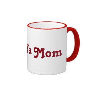 Love ya Mom Ringer Mug