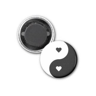Love Yin Yang magnet