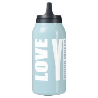 Love YinYin Thermos Water Bottle