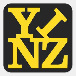Love Yinz Square Sticker