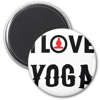 LOVE YOGA MAGNET