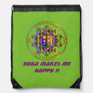 Love Yoga?? This for you !! Drawstring Bag