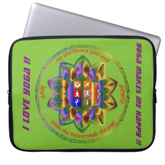 Love Yoga ?? This is for you !! Computer Sleeve