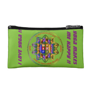 Love Yoga ?? This is for you !! Cosmetic Bag