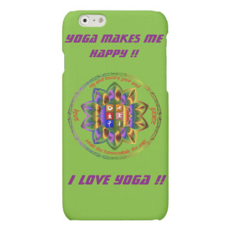 Love Yoga?? This is for you !! Matte iPhone 6 Case