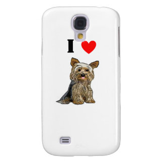 Love Yorkies iPhone Case Galaxy S4 Cases