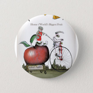 Love Yorkshire big apples Pinback Button