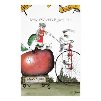 Love Yorkshire big apples Stationery