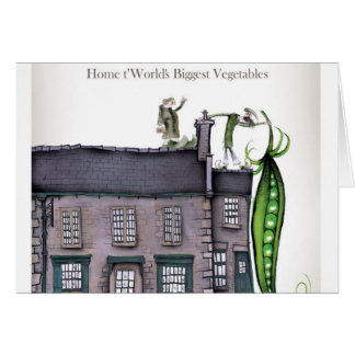 Love Yorkshire big peapods Card