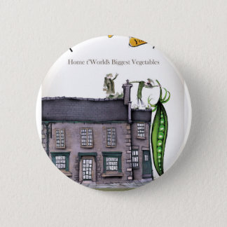 Love Yorkshire big peapods Pinback Button