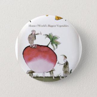 Love Yorkshire big radish Pinback Button