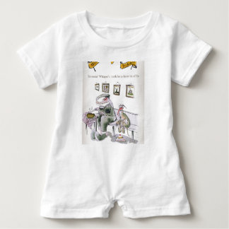 love yorkshire borrowing whippets teeth baby romper
