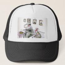 love yorkshire borrowing whippets teeth trucker hat
