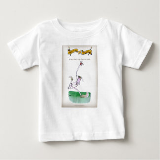 Love Yorkshire Cricket 'bowlers are born not made' Baby T-Shirt