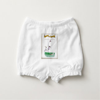 Love Yorkshire Cricket 'bowlers are born not made' Diaper Cover