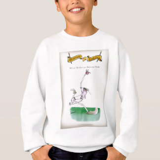 Love Yorkshire Cricket 'bowlers are born not made' Sweatshirt