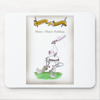 Love Yorkshire Cricket 'finest puddings' Mouse Pad