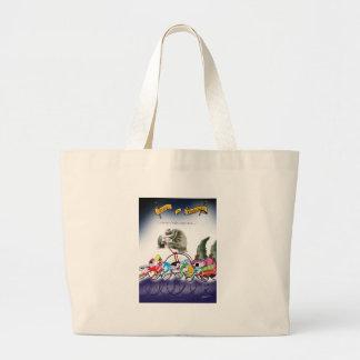 love yorkshire drop o'rain large tote bag