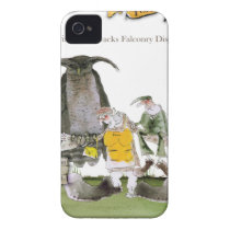 love yorkshire falconry display iPhone 4 case