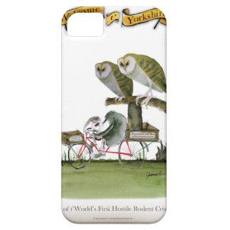 love yorkshire hostile rodent unit iPhone SE/5/5s case