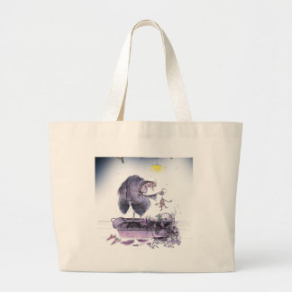 love yorkshire ol' ma ferret large tote bag