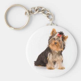 Love Yorkshire Terrier Puppy Dog Key Chain