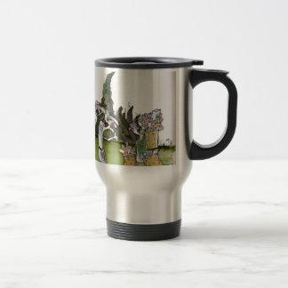 Love Yorkshire visitors Travel Mug