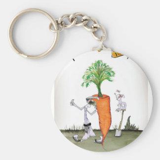 Love Yorkshire 'world's biggest carrot' Keychain