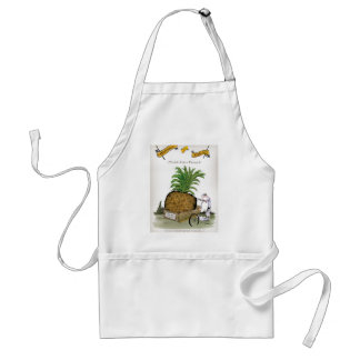 Love Yorkshire 'world's fattest pineapple' Adult Apron