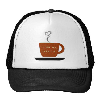 Love you a Latte - Cup Hat