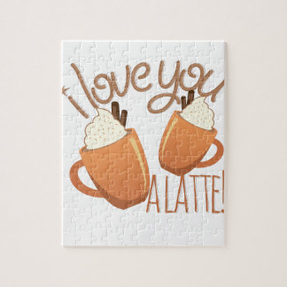 Love You A Latte Jigsaw Puzzle