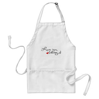 Love You Always Adult Apron