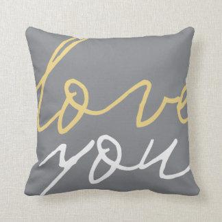 Love You...Always Throw Pillow