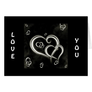 LOVE YOU AND THANK YOU FOR LOVING ME CARD