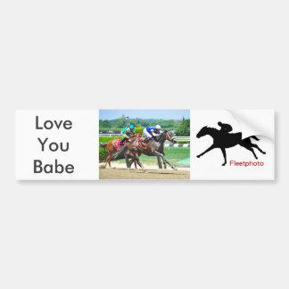 Love You Babe Bumper Sticker