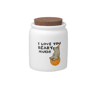 Love You Beary Much Candy Dish