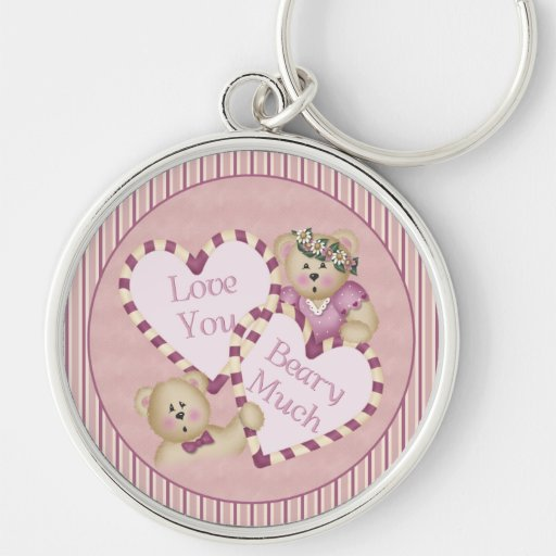 Love You Beary Much Keychain