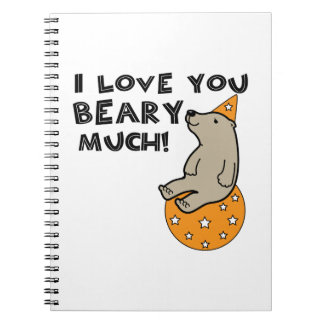 Love You Beary Much Note Book