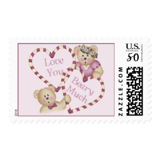Love You Beary Much Postage