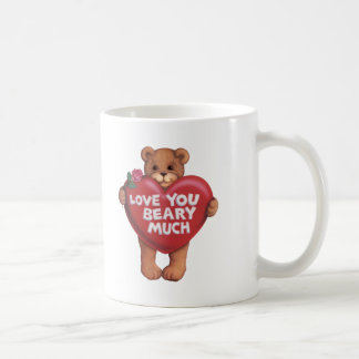 Love You Beary Much products Coffee Mugs