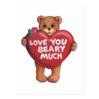 Love You Beary Much products Post Card